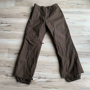 Burton Snowboard/Ski Pants Brown Medium